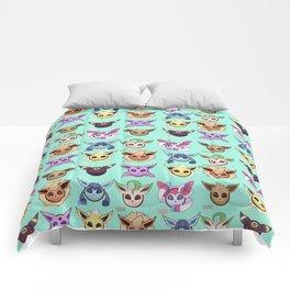 Eeveelutions Mint Comforters