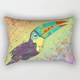 Toucan Can Do It! Rectangular Pillow