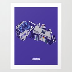 Transformers - Megatron Art Print