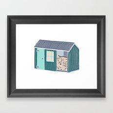 Little Log Cabin Framed Art Print