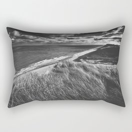 Long Nook Beach Rectangular Pillow