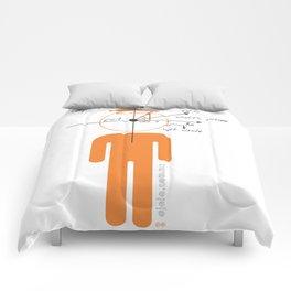 decaf euler Comforters