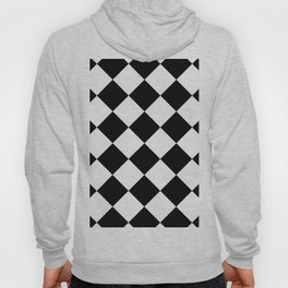 Diamond (Black & White Pattern) Hoody
