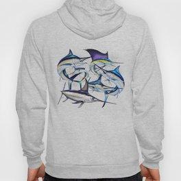 Pacific Billfish Slam Marlins,Sailfish,Swordfish,Spearfish Hoody