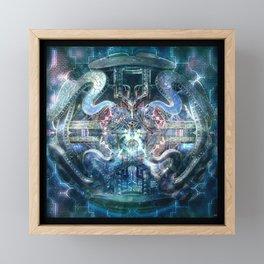 Crytalinne Equilibrium Framed Mini Art Print