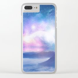 Dreaming Clear iPhone Case