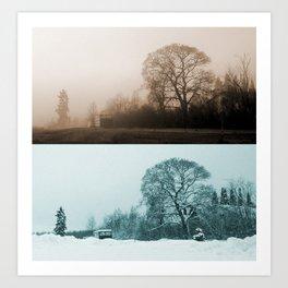 Two Seasons Art Print