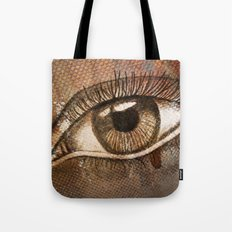 Refracted Canvas Tote Bag