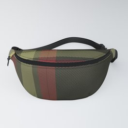 Colors Of Christmas (Plaid) Fanny Pack