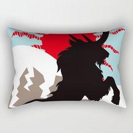 Shadow of the Kirin Rectangular Pillow