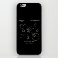 Retro Star Wars Arcade Alderaan Asteroids iPhone & iPod Skin