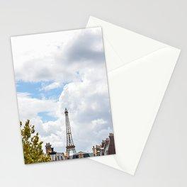 Old Paris Skyline Stationery Cards