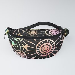 Candys Hippie Design 6 Fanny Pack