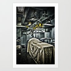 Bad Place To End Up Art Print