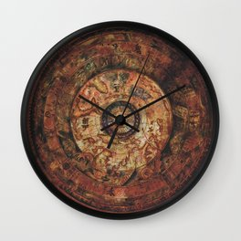 Sao Feng Replica Map Pirates of the Caribbean Wall Clock
