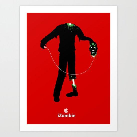iZombie Art Print