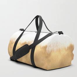 Brushed Gold Duffle Bag