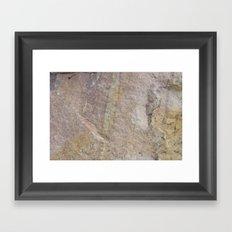 Sioux Falls Rocks #1 Framed Art Print