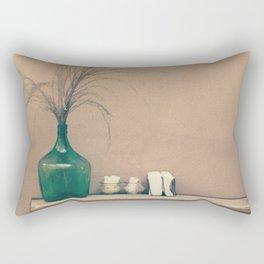 Winter Time - Still Life Retro Vintage Photography  Rectangular Pillow