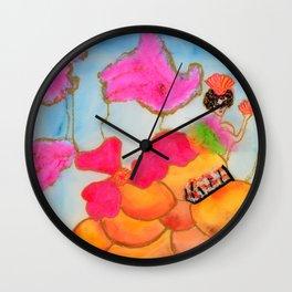 Sushi Mermaid Wall Clock