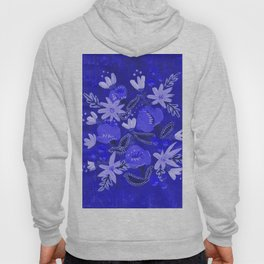 Blue Blossoms Hoody