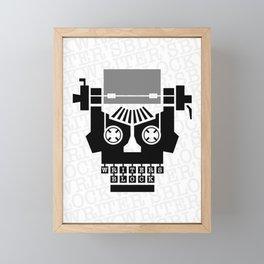 Writer's Block II Framed Mini Art Print