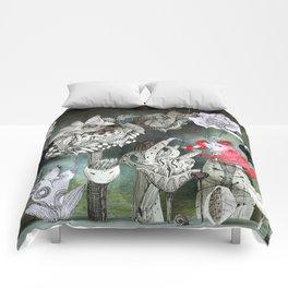 The Garden of Forgotten Happiness diorama Comforters