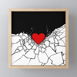 Heartbreaker Framed Mini Art Print