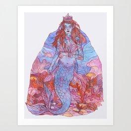 Sea Princess Art Print