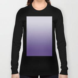 Ombre Ultra Violet Gradient Motif Long Sleeve T-shirt