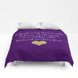 Dance Quotes - Purple Comforters