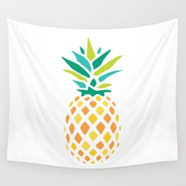 Summer Pineapple Wall Tapestry
