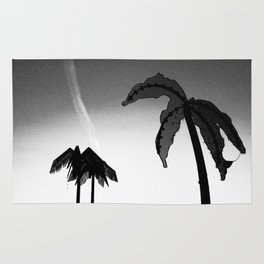 Metal palms of Hamburg Park Fiction Rug