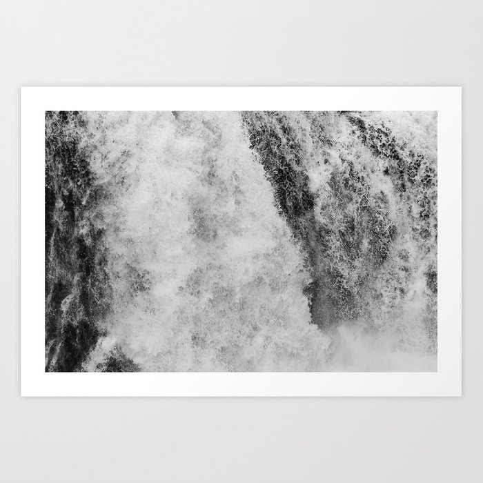 The hidden waterfall Art Print