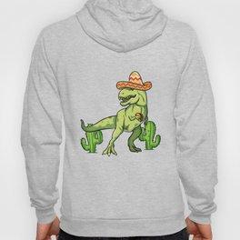 Drunk T Rex Cinco De Mayo design Tyrannosaurus Dinosaur Gift Hoody