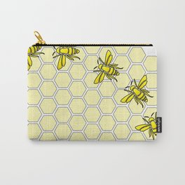 Save the Bees Design Two Carry-All Pouch