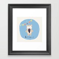 Barry Bear Framed Art Print