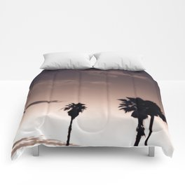 Palmetto Trees Comforters