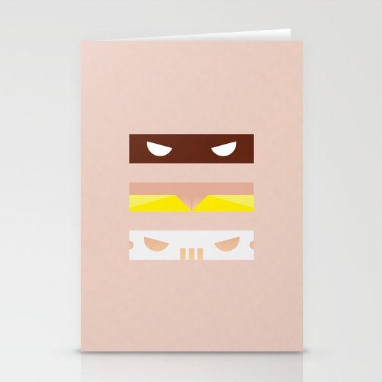 Teenage Minimal Ninja Good Guys Stationery Cards