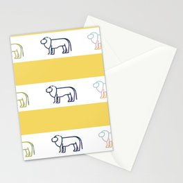 Lion Parade! Stationery Cards