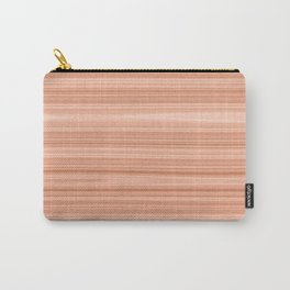 Cherry Wood Texture Carry-All Pouch