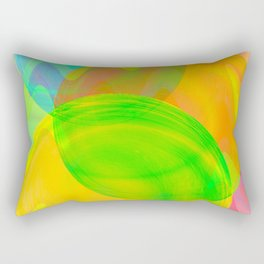 Greetings of colours land ... Rectangular Pillow