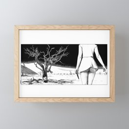 asc 853 - La fin de la piste (I will hunt you till the end of the earth) Framed Mini Art Print
