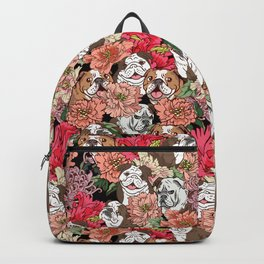 Because English Bulldog Backpack