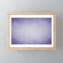 Lilac Mist Framed Mini Art Print