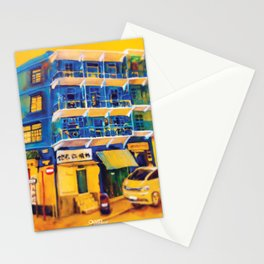 blue house (hong kong) Stationery Cards