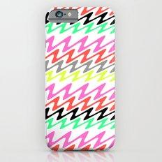 Zig Zag Stripes iPhone 6s Slim Case