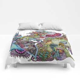 Sprawl Comforters