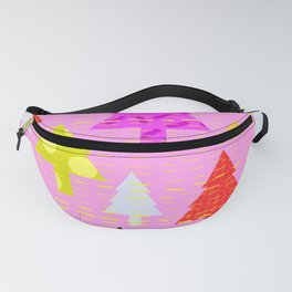 Colorful Trees Fanny Pack