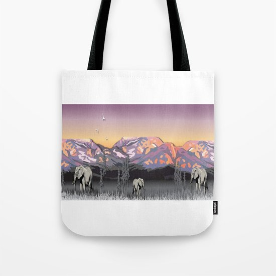 Elephantland Tote Bag